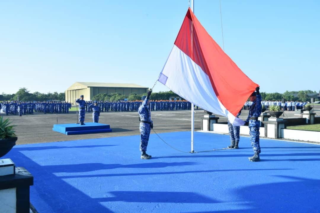 """Upacara bendera 17-an """"LANUD SULTAN HASANUDDIN"""""""