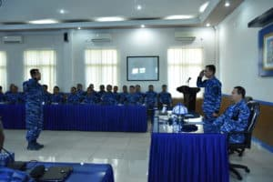 Exit Briefing Wasrik Itjenau Di Lanud Sultan Hasanuddin