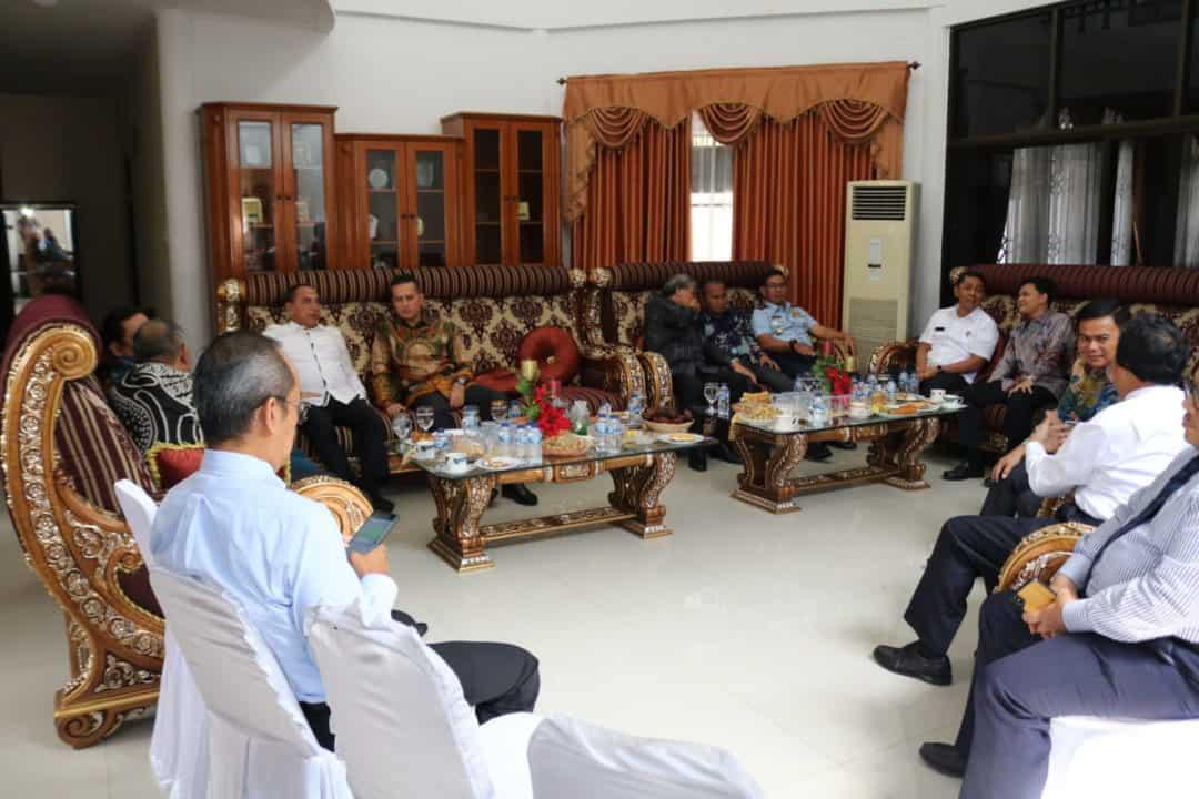 Pangkosekhanudnas III Hadiri Open House Ketua DPRD Sumut