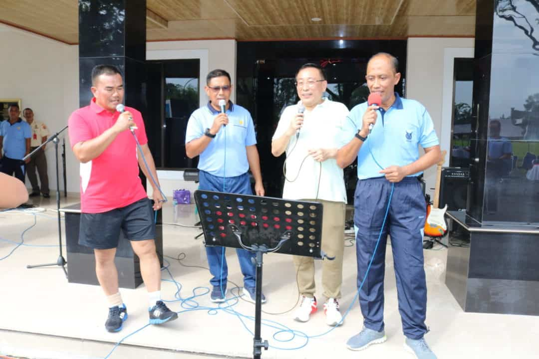 Pangkosekhanudnas III Mengadakan Acara Silaturahmi Bersama Anggota Dalam Rangka Tahun Baru 2020