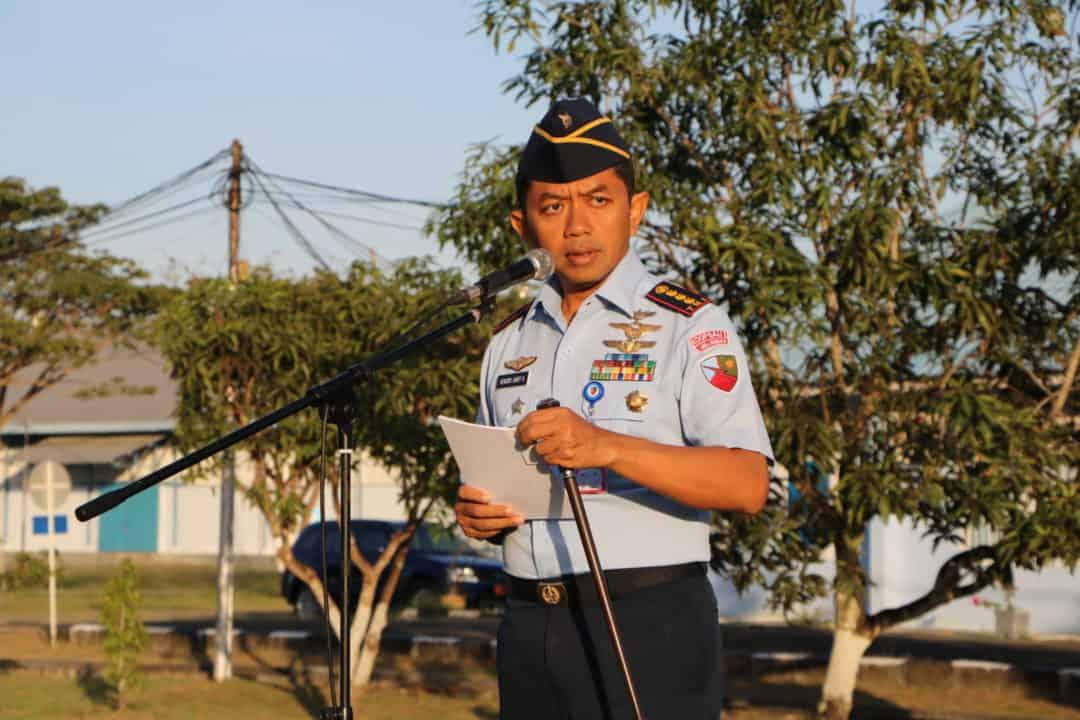 Apel Khusus Tahun Baru 2020 di Lanud Sultan Iskandar Muda
