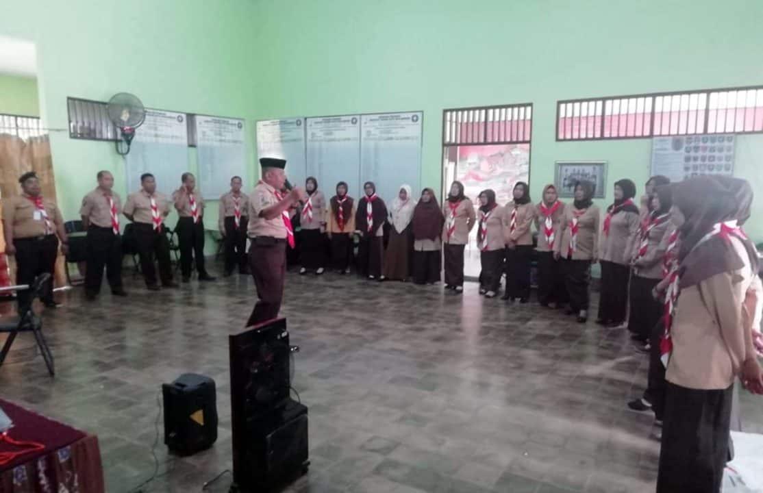 Saka Dirgantara Lanud Sjamsudin Noor Ikuti Kursus Pembina Pramuka Mahir Tingkat Dasar (KMD) Se-Kota Banjarbaru