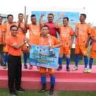 Penutupan Turnamen Sepak Bola Old Crack U-45 Pangkosekhanudnas III Cup IV