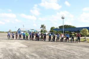 Danlanud Sim Ajak Komunitas Goweser Bandara Sim Gowes Bersama