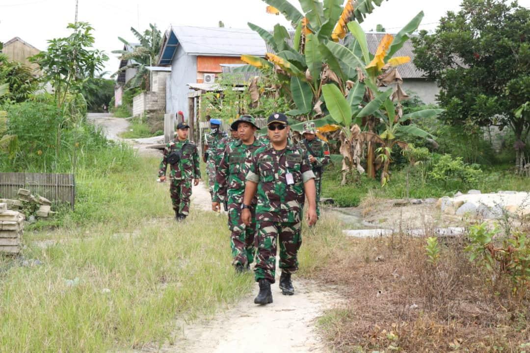 Lanud Iskandar Laksanakan Patroli Aset