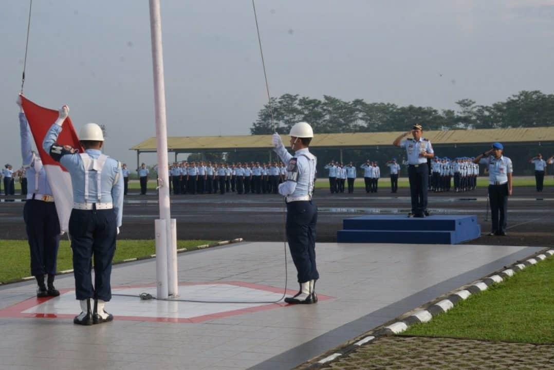 Komandan Lanud Atang Sendjaja Pimpin Upacara Peringatan Ke-71 Hari Bela Negara Tahun 2019