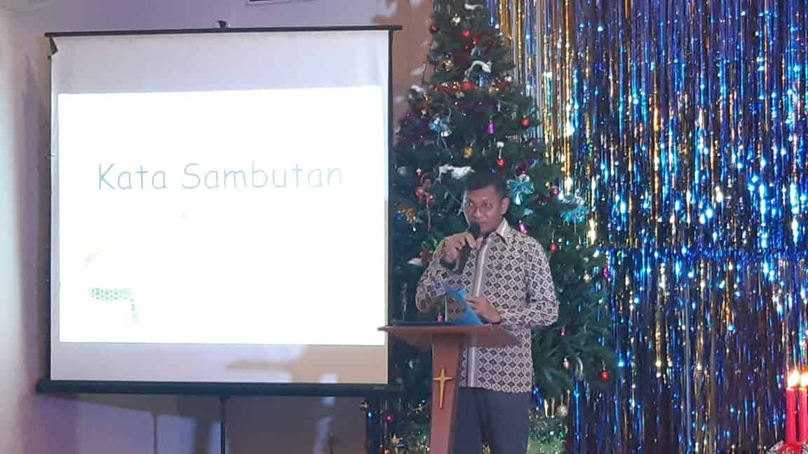 Danwing 4 Lanud Ats Hadiri Perayaan Natal Bersama Tahun 2019