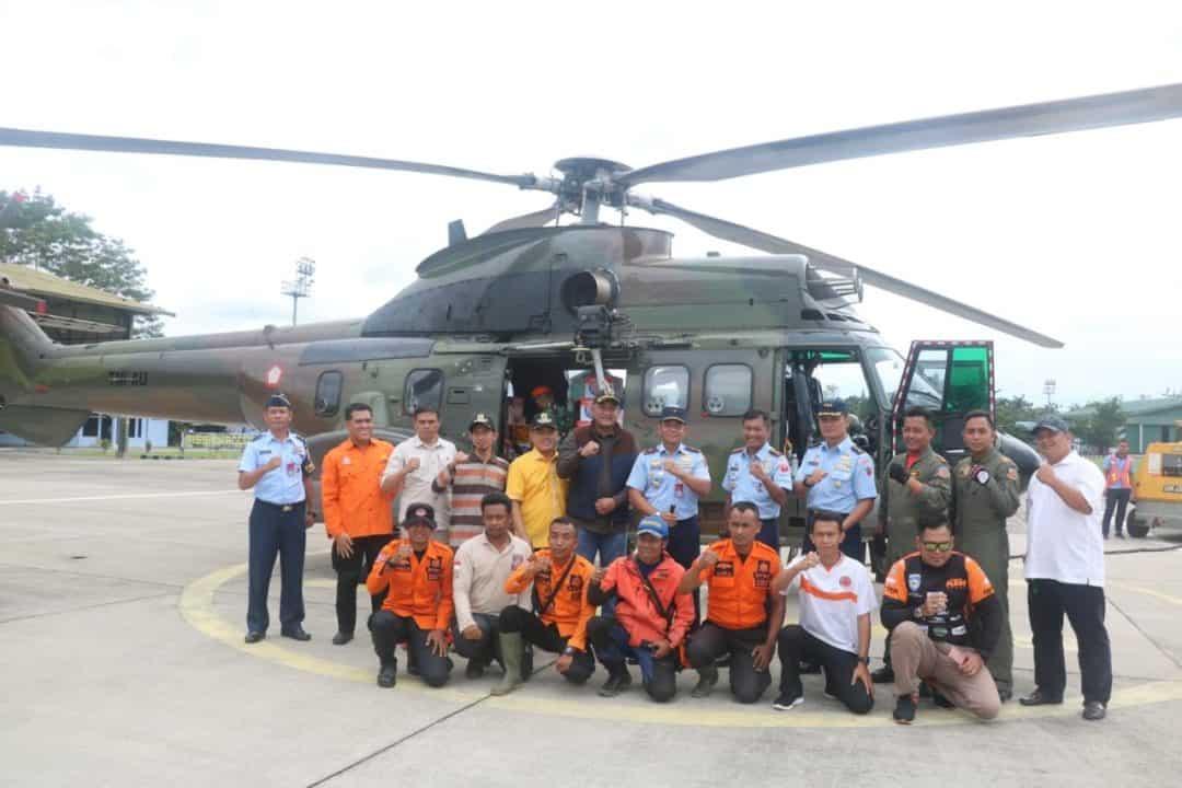 Lanud Atang Sendjaja Bantu Pengiriman Logistik Untuk Korban Banjir