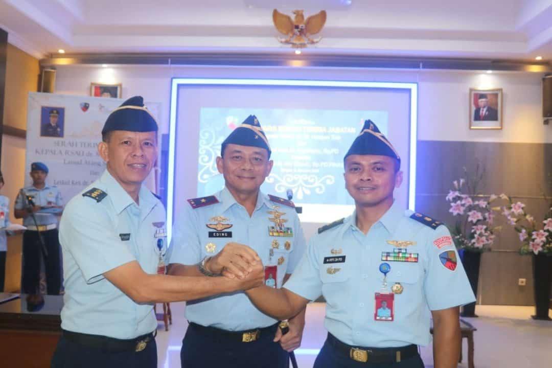 Danlanud Atang Sendjaja Pimpin Sertijab Kepala RSAU dr. M. Hassan Toto
