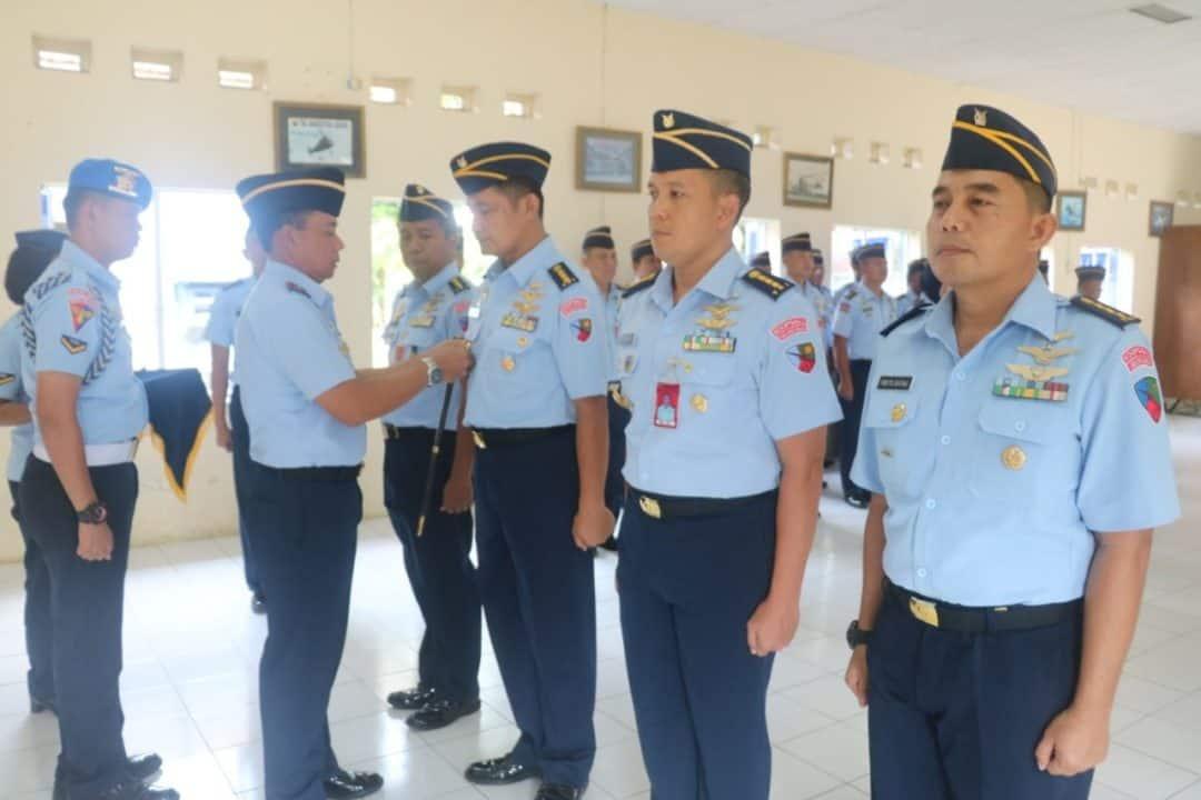 Danlanud Atang Sendjaja Pimpin Sertijab Dua Kepala Dinas