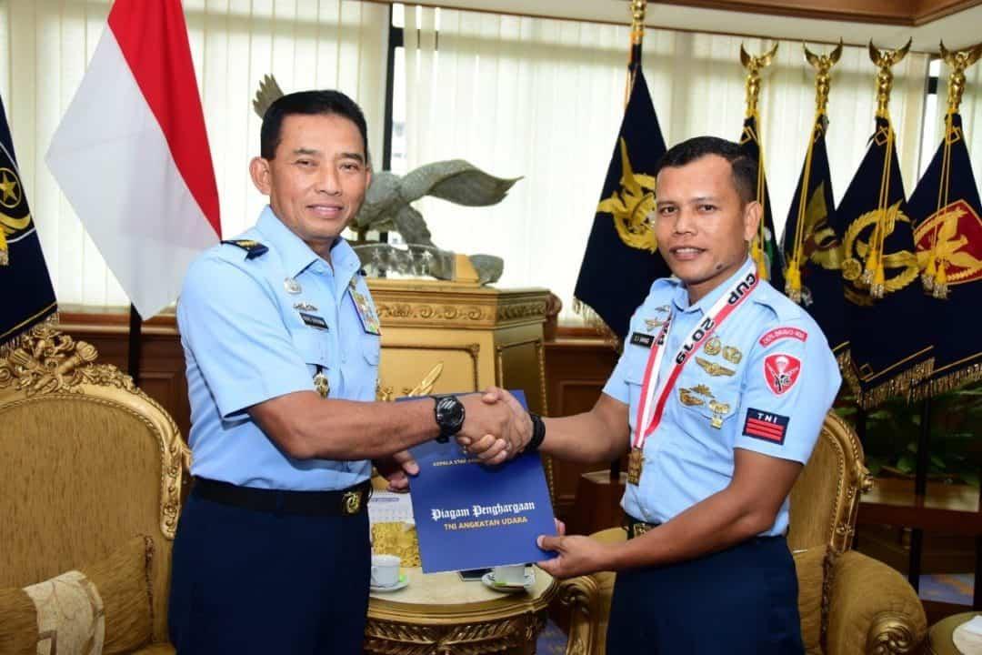 Kasau Apresiasi Kontingen Menembak TNI AU