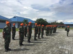 Apel Penyambutan Satgas Pam Alutsista Satrad 232/ Dumai Dan 213/ Tanjung Pinang
