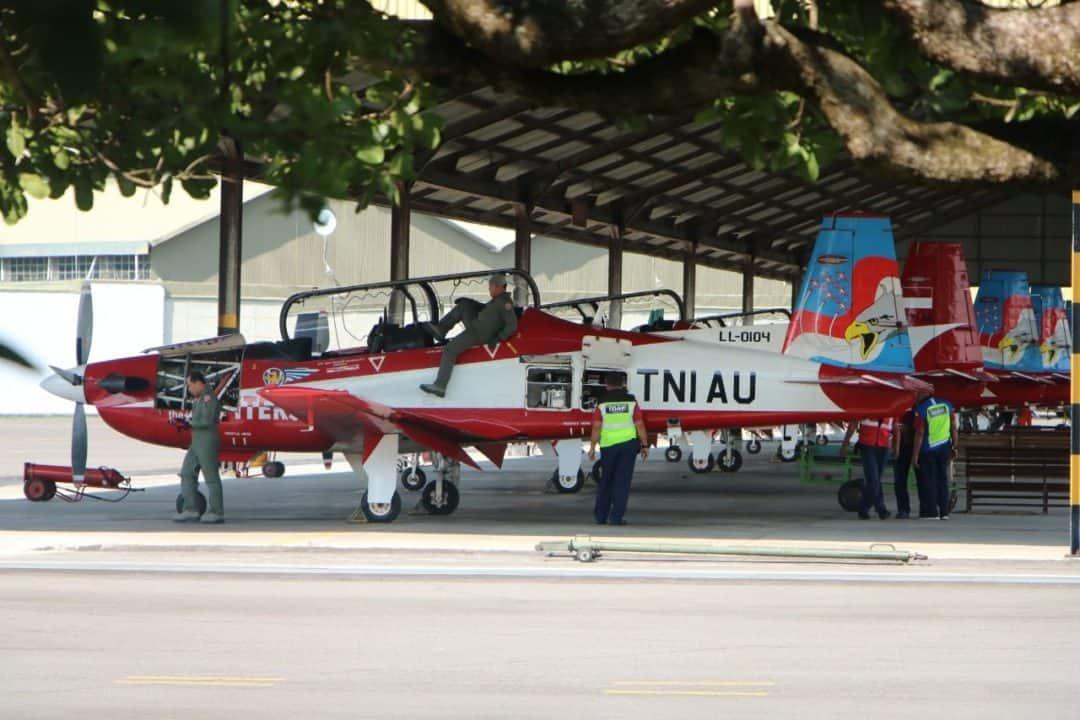 Jupiter Aerobatik Team laksanakan latihan Intensif jelang tampil di Singapore Air Show