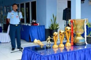 Pawai Piala Bergilir Danlanud Cup Ke-XXIV Lanud Dhomber