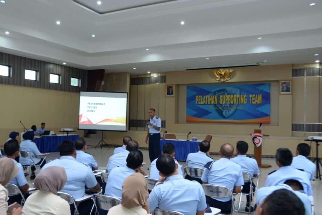 Makoopsau I Laksanakan Supporting team, harapkan personel Profesional, Militan, Inovatif
