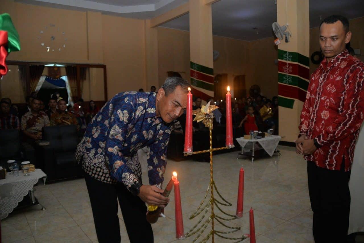 Danalanud Suryadarma Hadiri Natal Bersama