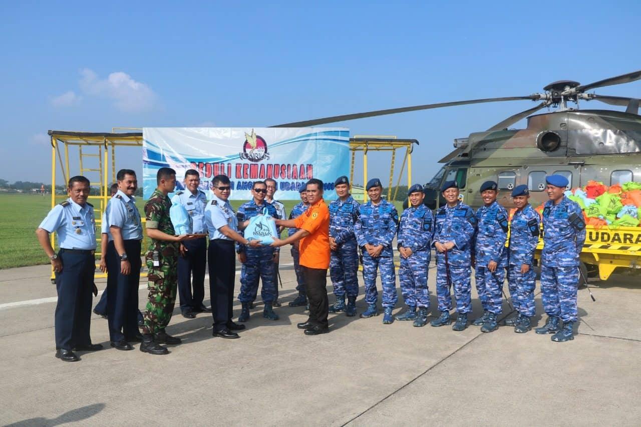 Alumni Akademi Angkatan Udara 1989 (Icarus'89) Serahkan Bantuan Korban Bencana
