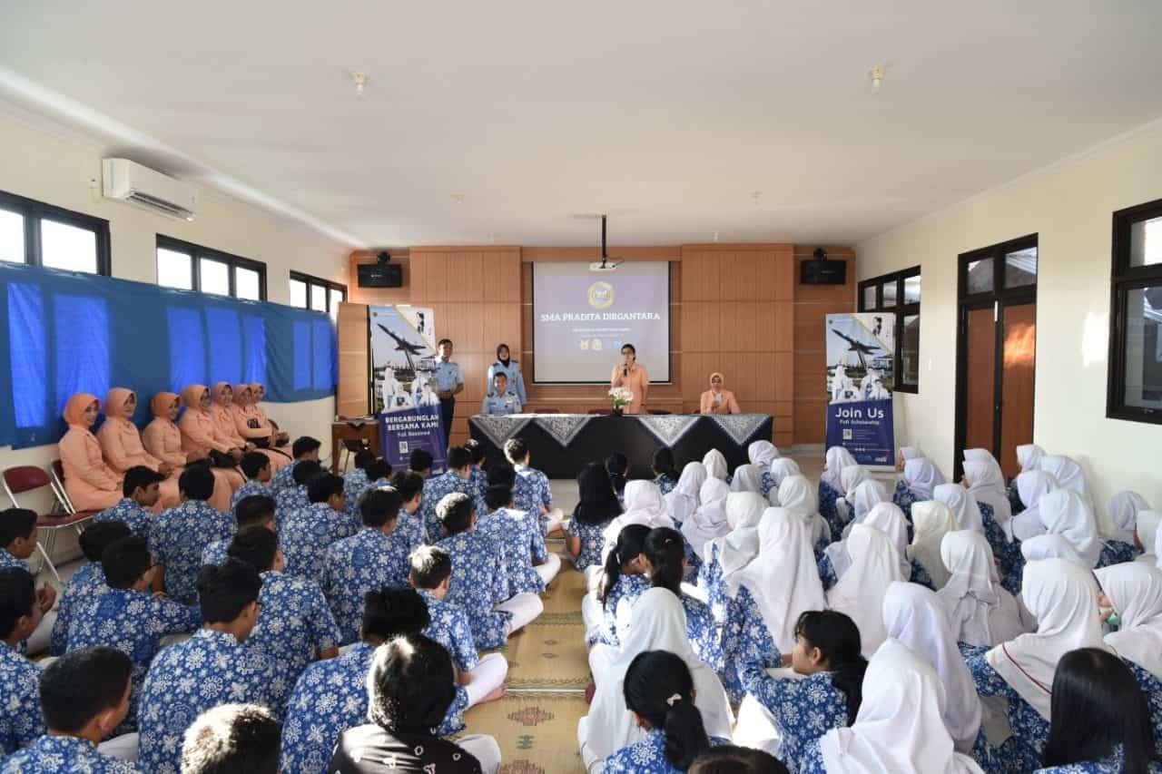 Yasarini Cabang Lanud Adisutjipto sosialisasikan PPDB SMA Pradita Dirgantara