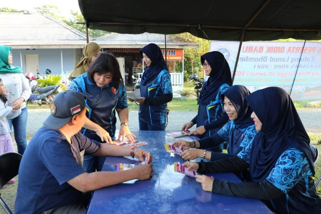 Yasarini Cabang Lanud Dhomber Gelar Sosialisasi Penerimaan Murid Baru TK Angkasa