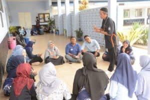 Yasarini Laksanakan Pelatihan Motivasi Guru di Kaliurang