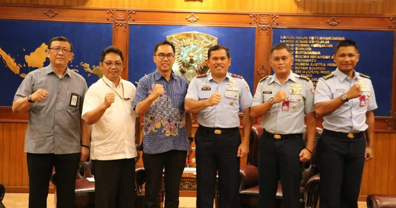 Pangkoopsau I Terima Kunjungan Direktur PT. Angkasa Pura II (Persero)