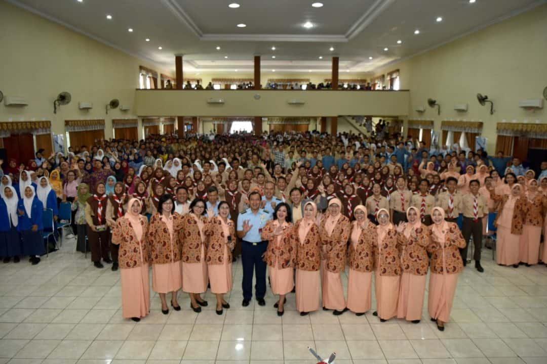 Ratusan Pelajar SMP Yogyakarta hadiri Sosialisasi Terpusat SMA Pradita Dirgantara