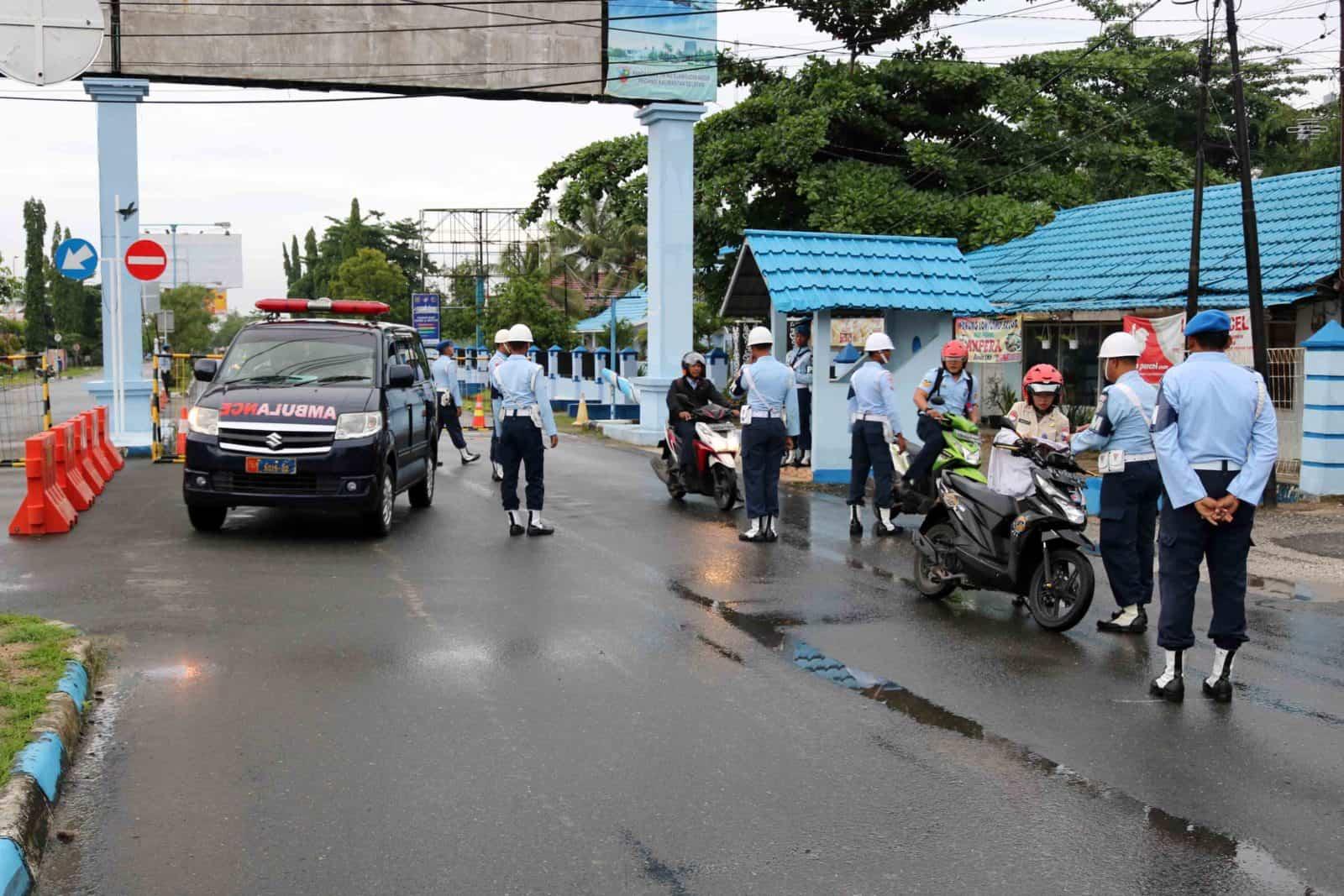 Operasi Penegakan Disiplin dan Tata Tertib Di Lanud Sjamsudin Noor