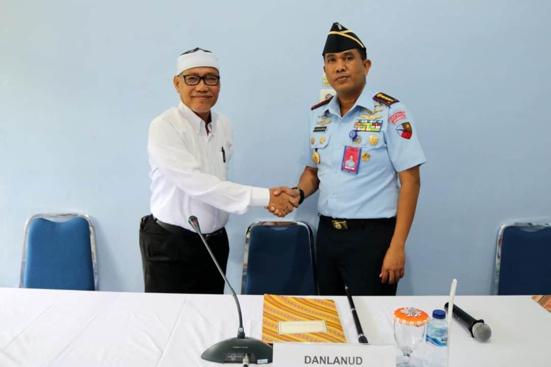 Pembukaan Praktek Kerja Lapangan (PKL) Siswa SMK Darussalam Martapura Oleh Komandan Lanud Sjamsudin Noor di Rumkit Sjamsudin Noor