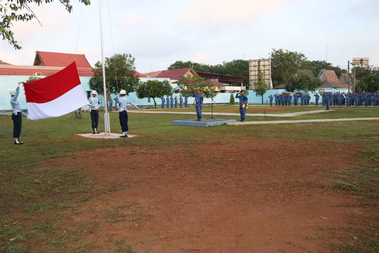 Upacara Bendera 17- an Bulan Januari 2020 di Lanud Sjamsudin Noor