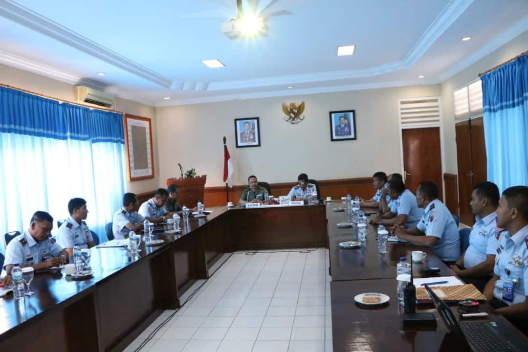 Tim Monitoring dan Evaluasi Dari Kemhan Kunjungi Lanud Sultan Iskandar Muda