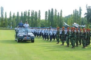Komandan Skadik 101 Lanud Adisutjipto dijabat Letkol Pnb Slamet Suhartono