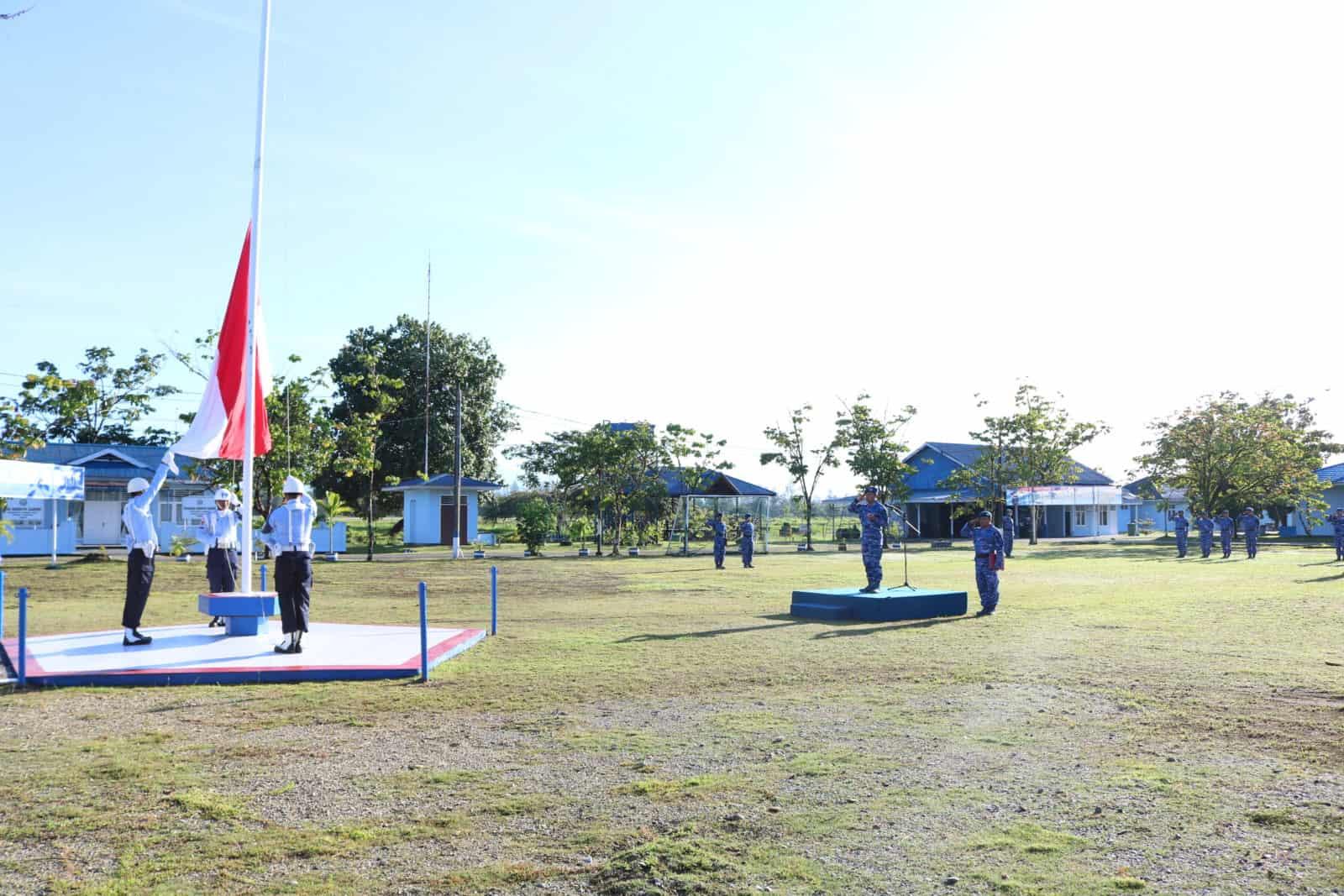 Upacara Bendera 17 An Di Lanud Yohanis Kapiyau Timika