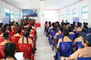 Lanud Yohanis Kapiyau Timika Sosialisasi SMA Pradita Dirgantara