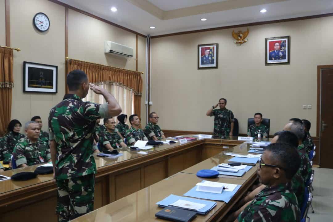 Wasrik Itkohanudnas Laksanakan Fungsi Kontrol di Kosekhanudnas I
