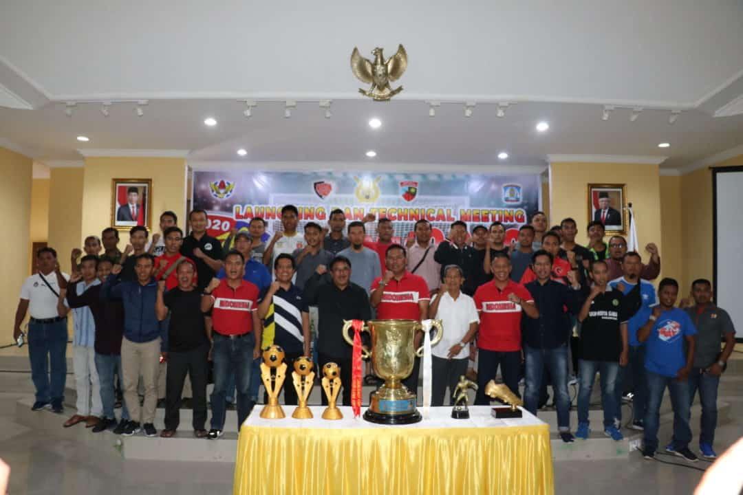 Launching dan Technical Meeting Danlanud Cup XXIV 2020