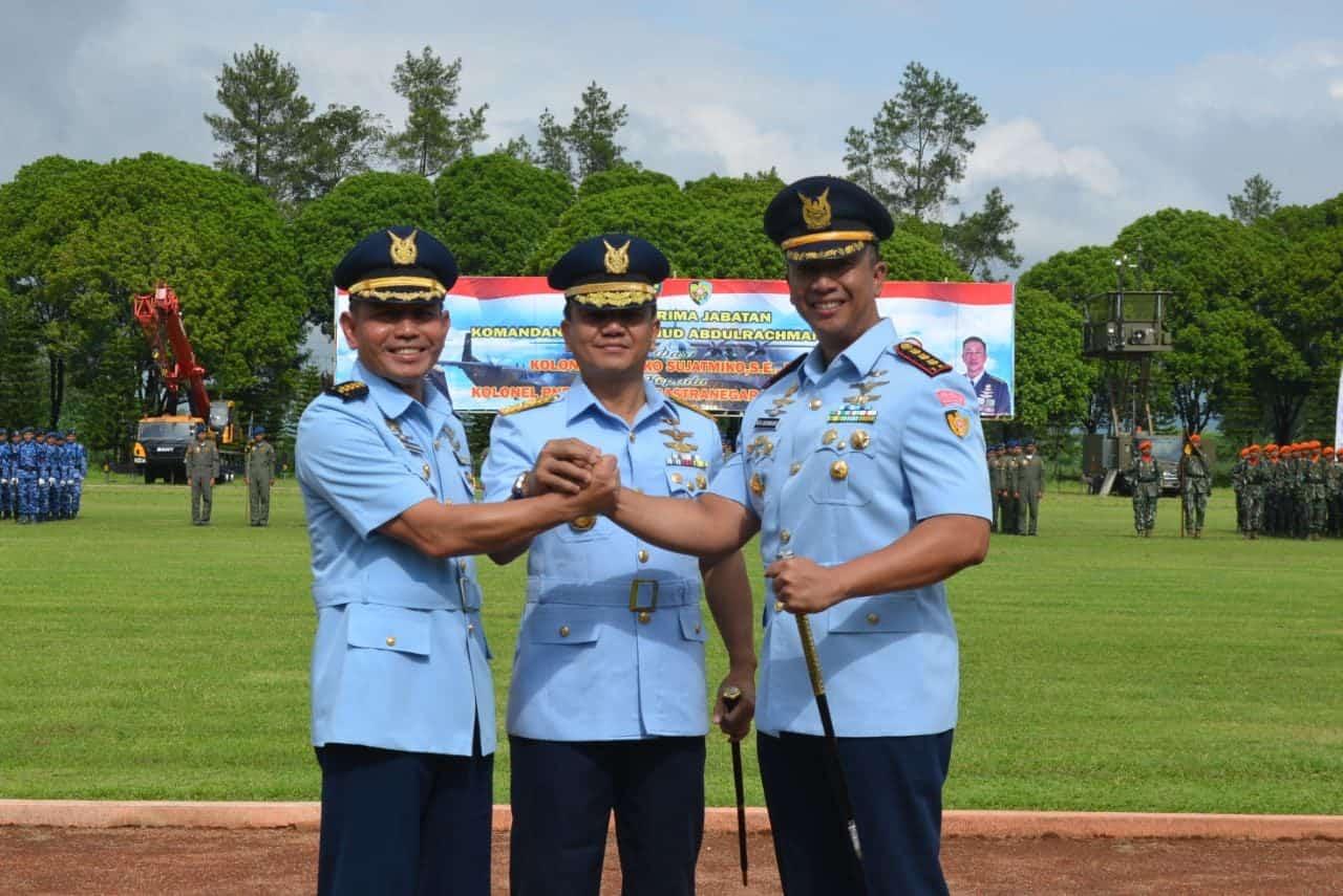 Kolonel Pnb Reza Sastranegara Jabat Danwing 2 Lanud Abd Saleh