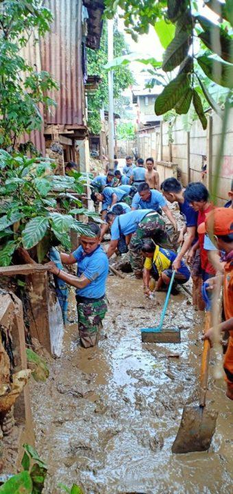 Lanud Halim Perdanakusuma Ikuti Karya Bakti, Bantu masyarakat Pasca Banjir