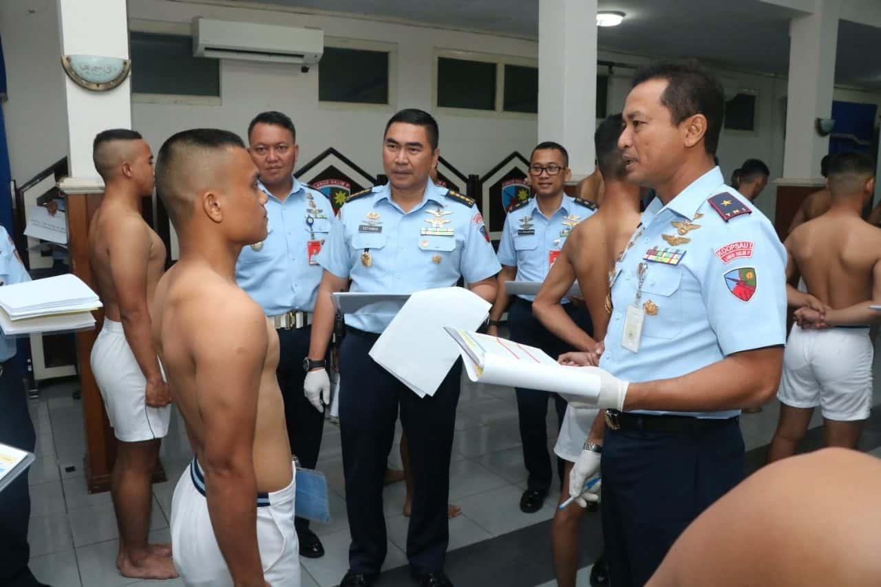 Seleksi Casis Bintara PK Pria TNI AU Gelombang Pertama TA 2020 Lanud Halim Perdankusuma Berakhir