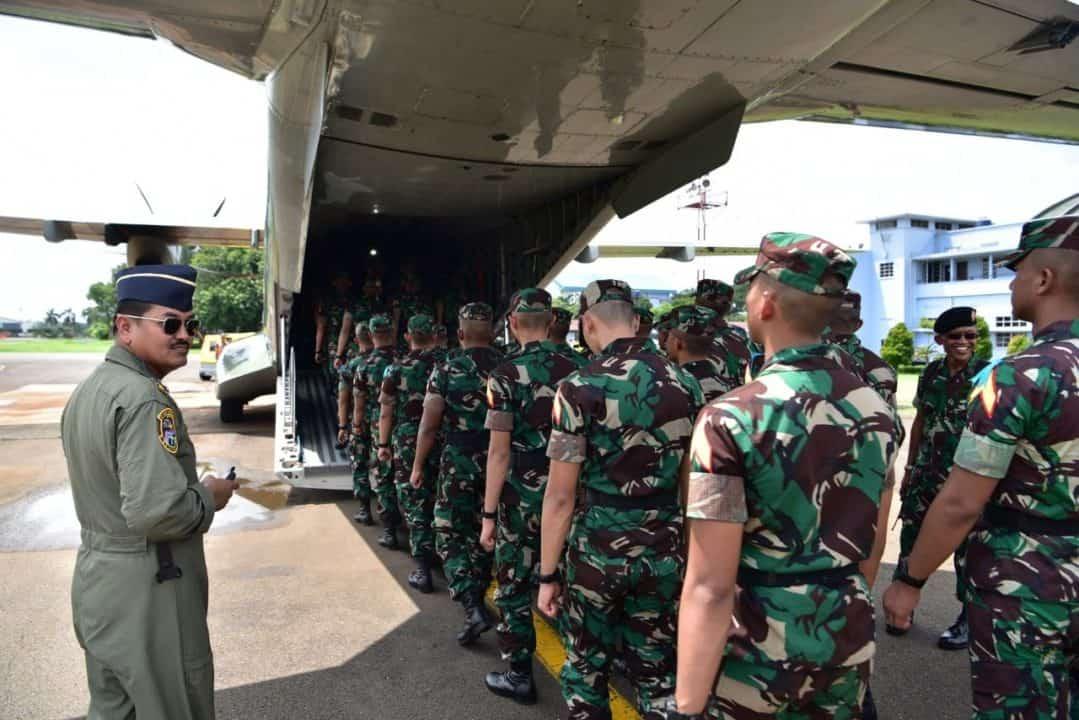 Taruna Akademi TNI Jalani Latihan Bhinneka Eka Bhakti di Lanud Halim Perdanakusuma