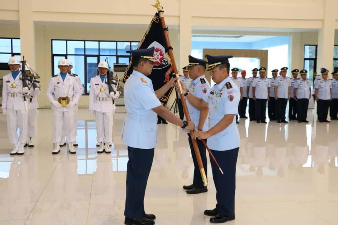 Pelantikan Serah Terima Jabatan Komandan Lanud D.Dumatubun