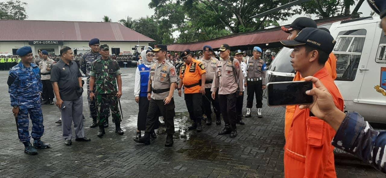 "Lanud Haluoleo Terlibat Apel Siaga Penanganan Bencana ""Aman Nusa II 2020"""
