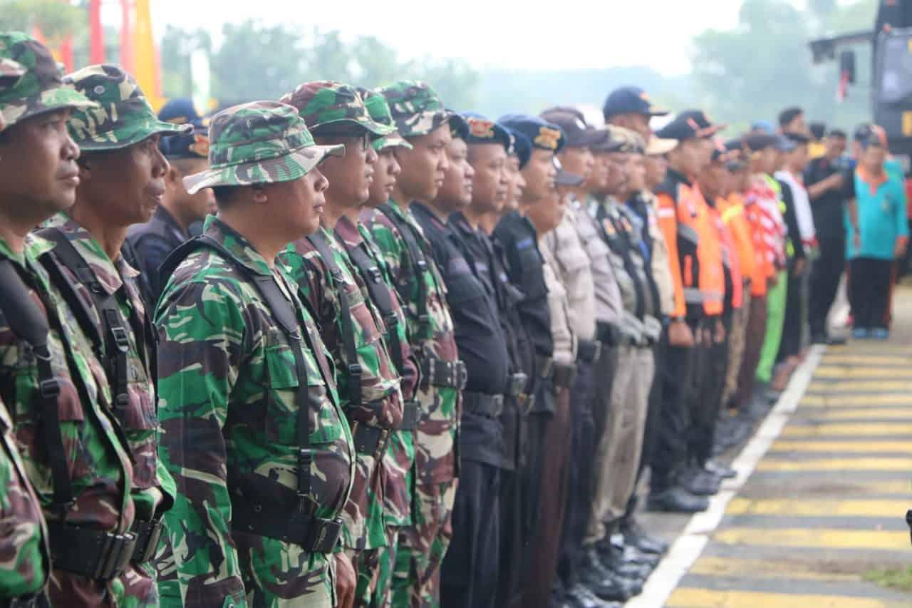Lanud Iswahjudi Siagakan 1 SST Pasukan Siaga Bencana Alam