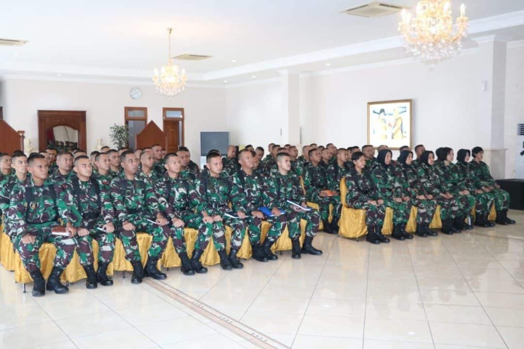 Orientasi Perwira Siswa Sekkau Angkatan 107 di AAU