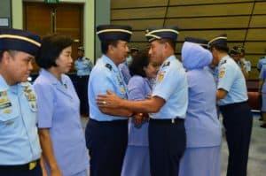 Kasau Pimpin Pergantian Lima Pejabat TNI AU