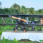 Peresmian Taman Wisata Sejarah Salatiga, Sejarah Kental TNI AU di Masa Perjuangan
