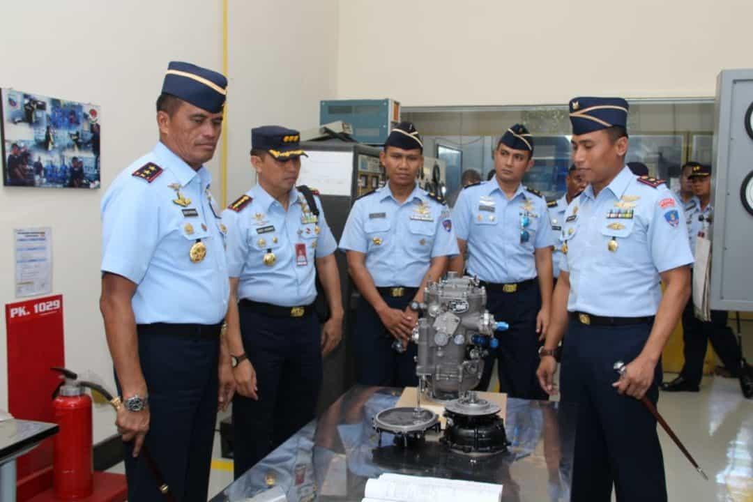 Dakoharmatau : Pemeliharaan Pesawat Grob dilaksanakan Depohar 20 dan Depohar 30.
