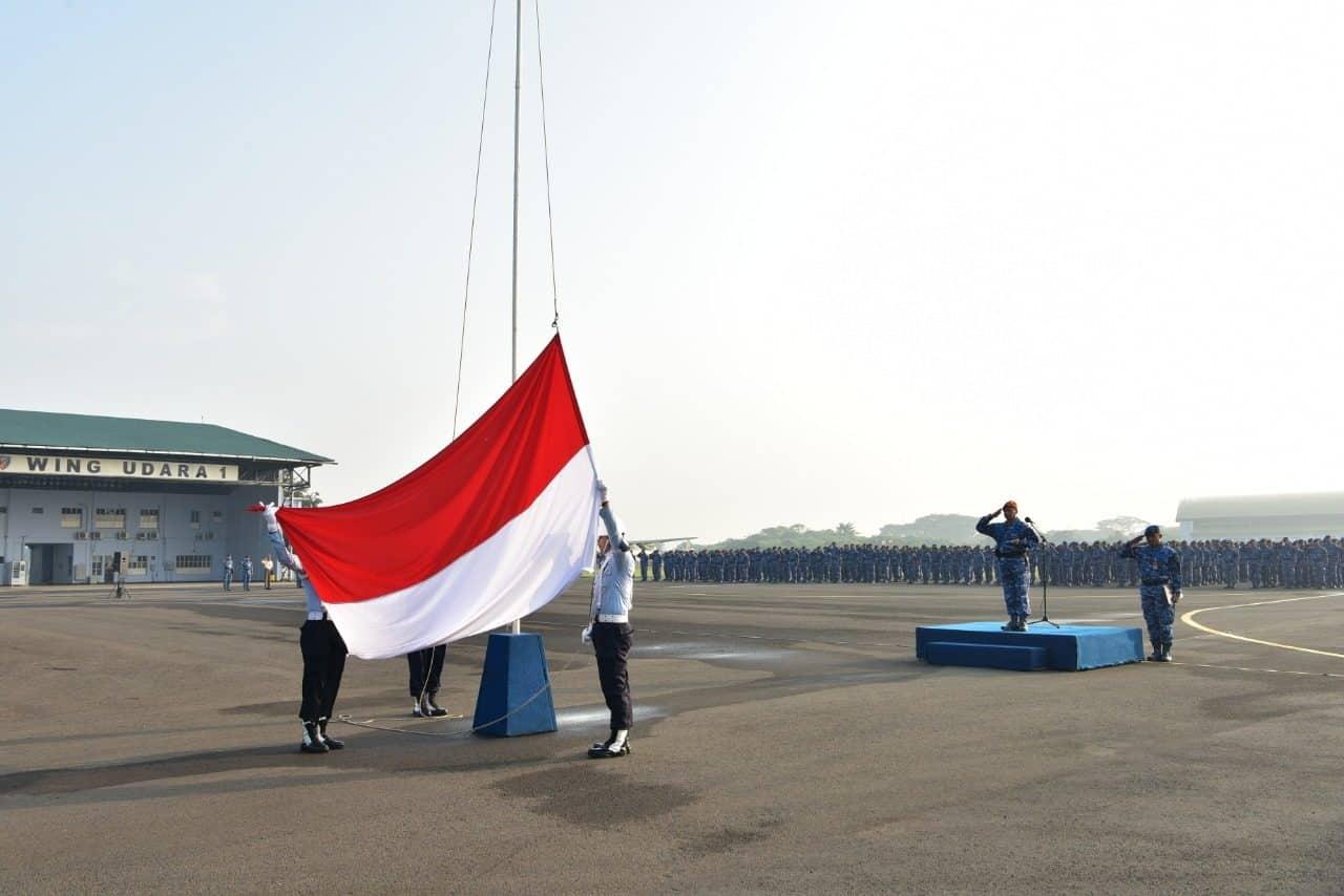 Upacara Bendera 17- an di Lanud Halim Perdanakusuma