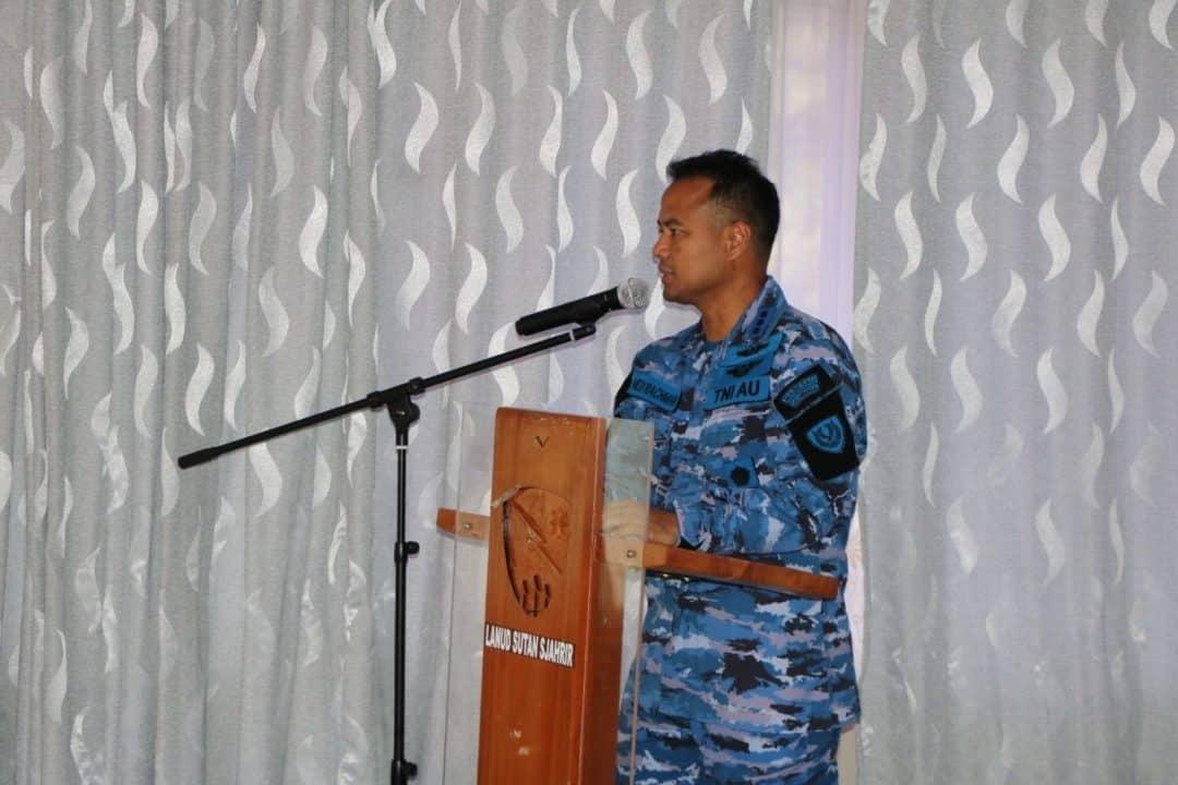 Tim Lambangja Koopsau I melaksanakan Survey dan Sosialisasi Lambangja di Lanud Sutan Sjahrir