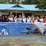 Lanud RHF Kembali Sosialisasikan SMA Pradita Dirgantara di Wilayah Kabupaten Bintan
