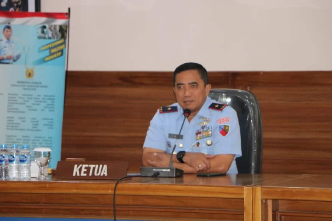 Danlanud Iswahjudi Pimpin Sidang Pantukhirda Casis Setukpa Angkatan-23